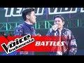 Kevin Vs Niel - I Want It That Way (Backstreet Boys) | Battles | The Voice Indonesia GTV 2018