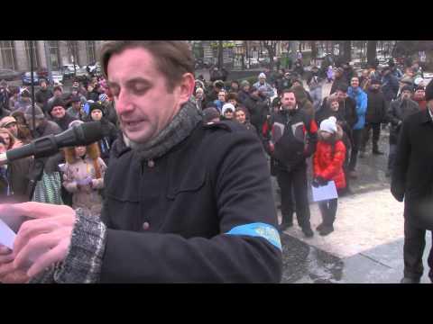 Сергій Жадан - Ми Леннону співаємо пісні на #Євромайдан #Харків