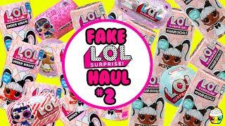 FAKE OR REAL LOL Surprise Hairgoals Dolls + Big Surprise + LOL Miraculous Ladybug