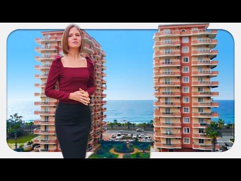 Недвижимость в Турции. ДЕШЕВО ИЛИ ДОРОГО? Квартира с видом на море в Алании, Турция