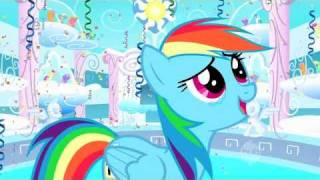 Repeat youtube video My Little Pony - Rainbow Dash - You're Gonna Go Far Kid [Explicit]