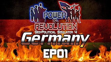 Geopolitical Simulator 4: Power and Revolution | Germany | EP01