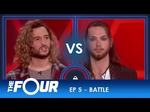 Noah Barlass vs Jesse Kramer: The Nashville Artist CHALLENGES The ROCK-STAR! | S2E5 | The Four