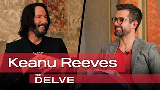 Keanu Reeves on John Wick 3, Charlize Theron sparring, being the action movie Tom Brady and more