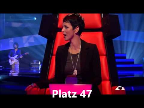 The Voice of Germany Top 50 Blind Auditions 2011