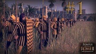 Total War: Rome II - Head to Head - Pontus vs Carthage - Episode 1