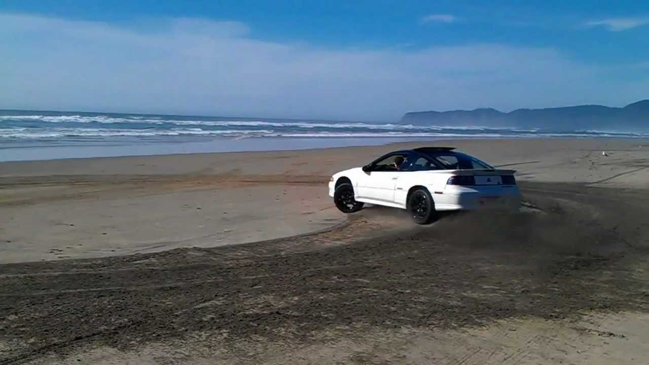 JWtuning 92 Eclipse GSX Playing On The Beach