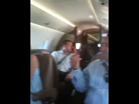 Petes private jet