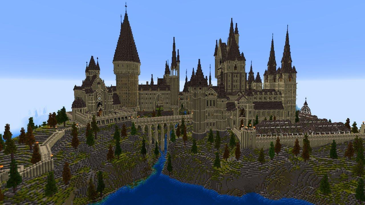 Hogwarts Aus Harry Potter In Minecraft Massig Details