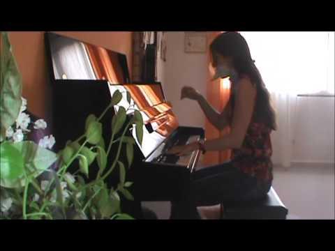 Il mondo  -  Jimmy Fontana ( piano solo )  -  Camila Di Sante