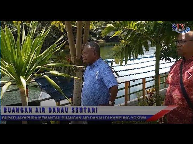 Bupati Jayapura Memantau Buangan Air Danau Di Kampung Yokiwa  | Sentani TV