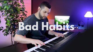 Ed Sheeran - Bad Habits (Piano Cover)