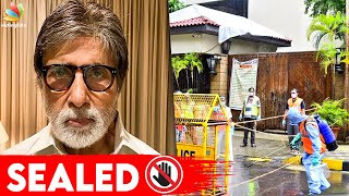 Full Video: Amitabh Bachchan House Fully Sealed | COVID 19, Aishwarya Rai, Abhishek Bachchan - 12-07-2020 Tamil Cinema News
