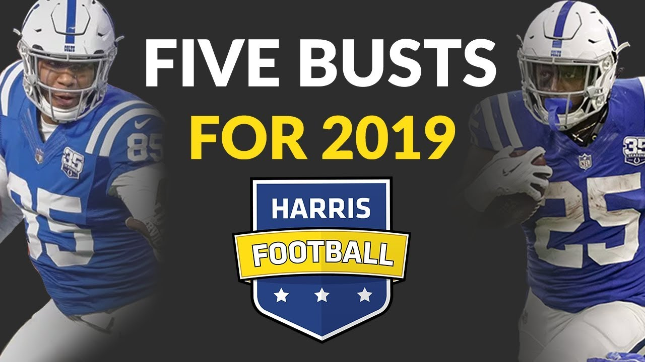 Fantasy Football Busts For 2019 We Look Ahead To Five Over Drafted