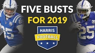 Fantasy Football Busts For 2019: We Look Ahead To Five Over Drafted Players Next Year