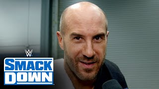 Cesaro know what he plans to do with his momentum: SmackDown Exclusive, Jan. 15, 2021