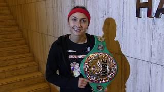Бокс Татьяна Зражевская - Бой в Берлине 26 октября 2019