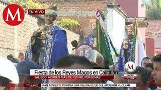 Así se vive la fiesta de los Reyes Magos en Cajititlán, Jalisco