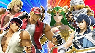 Smash Ultimate But Like King Of Fighters