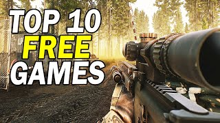 Top 10 Free PC Games 2020 (Free to Play)