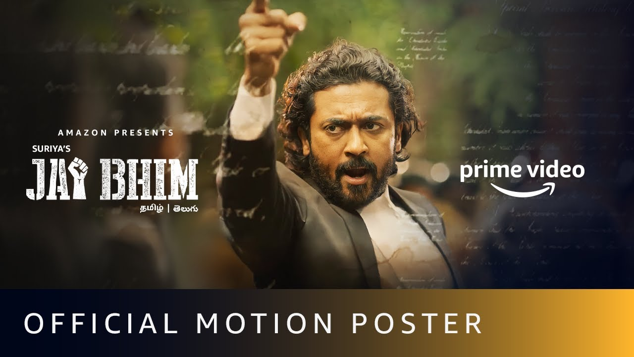 Download Jai Bhim - Official Motion Poster | Suriya | New Tamil Movie 2021 |  Amazon Prime Video
