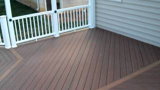 Ace Deck & Fence Llc Deck Pvc Alexandria 03.avi