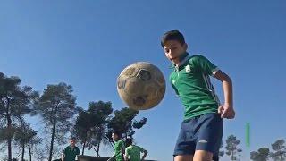 Быть как Месси  сирийские дети готовятся к чемпионату страны по футболу