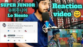 Indian Reacting to SUPER JUNIOR 슈퍼주니어 'Lo Siento (Feat. Lesl…