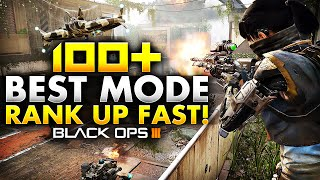 100 bo3 gameplay best mode for kills ranking up fast call of duty black ops 3 multiplayer