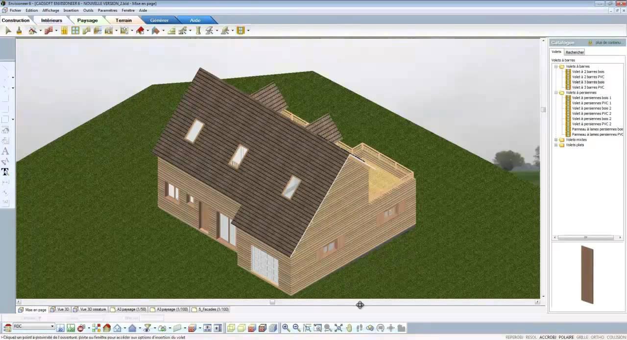 Logiciel maison logiciel maison intuitif et complet for Logiciel maison 3d exterieur