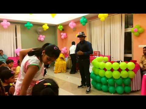 magician for birthday party in gurgaon Delhi 09891478183