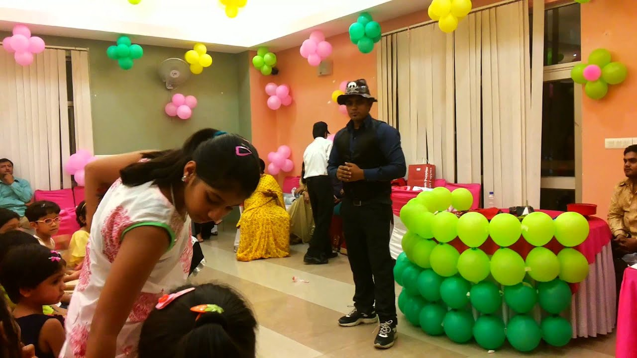 magician for birthday party in gurgaon Delhi 09891478183 YouTube