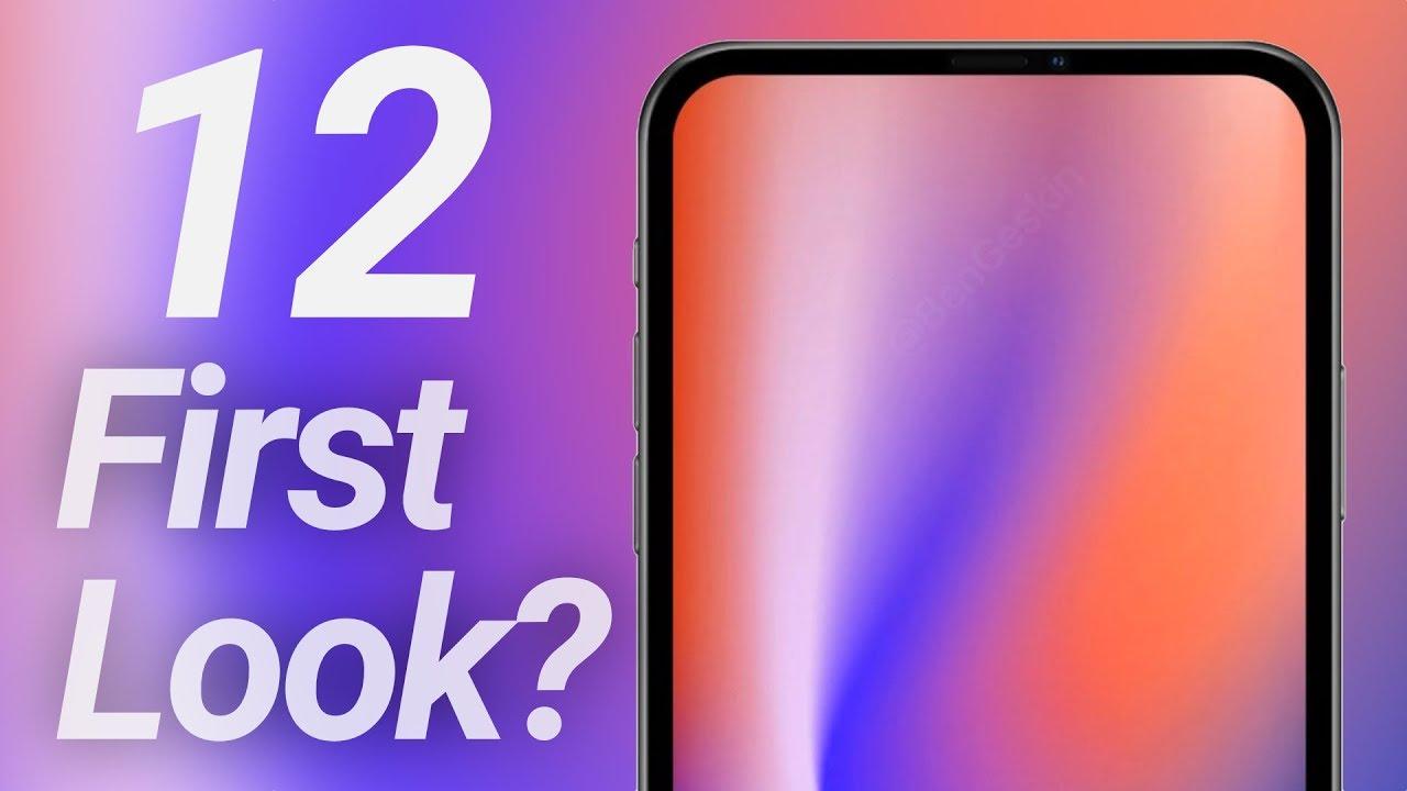 2020 iPhone 12 Design Revealed?