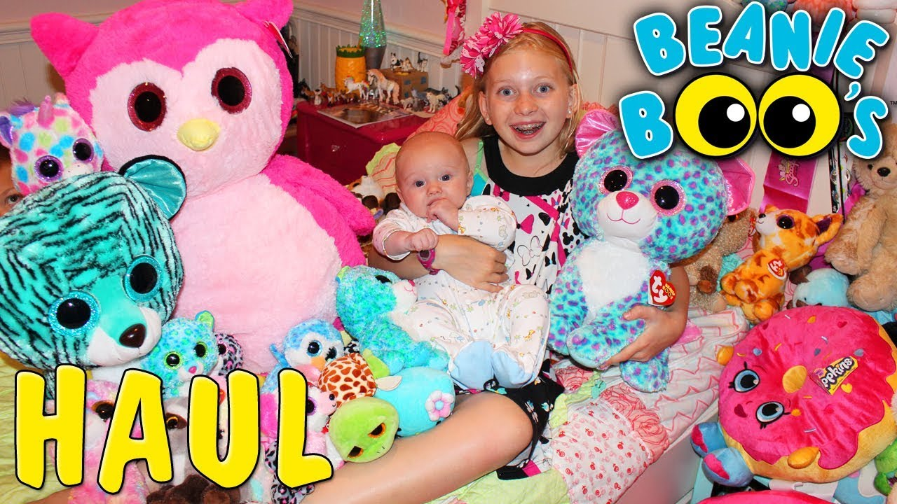 6e1d572c461bb6 My HUGE Beanie Boo Collection!! - YouTube
