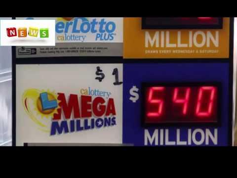 Winning ticket for $540 million mega millions jackpot sold in indiana