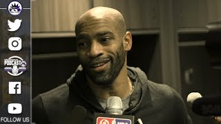 Vince Carter Post Game Interview | Kings vs Cavaliers