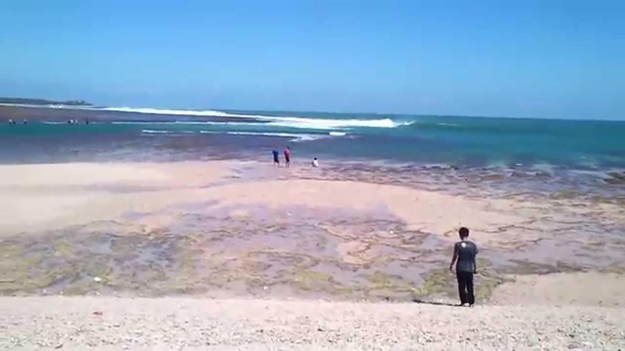 Indahnya Pantai Ujung Genteng Di Sukabumi Jawa Barat Mp4 Youtube