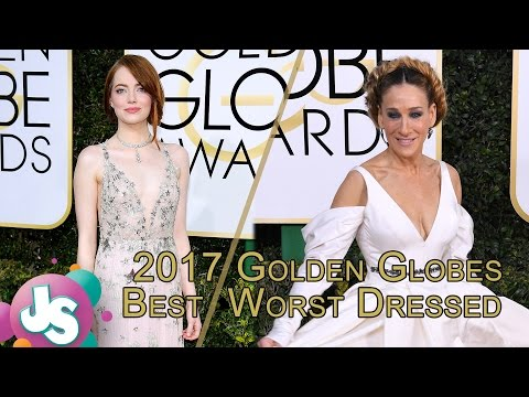 Thumbnail: 2017 Golden Globes Best and Worst Dressed: Emma Stone, Jessica Biel & More - Just Sayin'