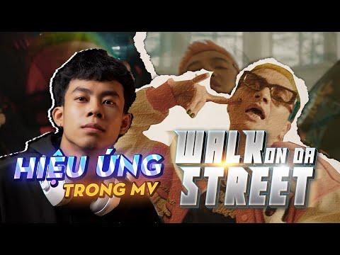 """Reaction & Hướng Dẫn Hiệu Ứng Trong Mv """"WALK ON DA STREET""""   After Effect   Quạ HD"""
