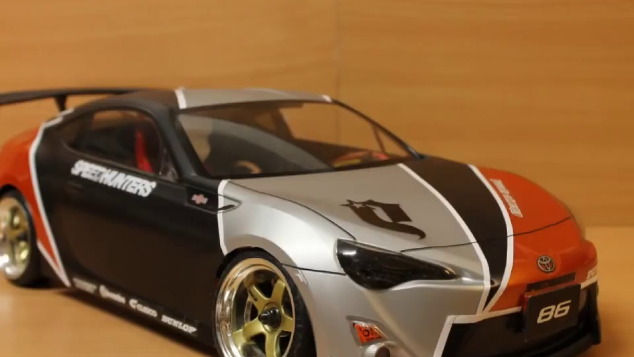 Build A Toyota >> EAC RC Body Build -- Toyota 86 -- Speedhunters Drift Body - YouTube