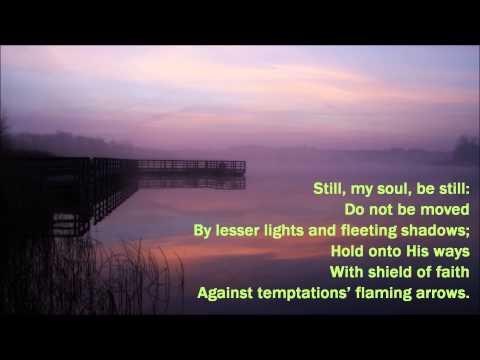 Still, My Soul, Be Still {with lyrics} - //Keith & Kristyn Getty\\ ++Shanna Thompson++