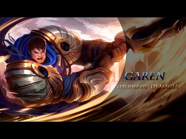 TO BASE! LOL RAP - (Garen, o poder de Demacia)