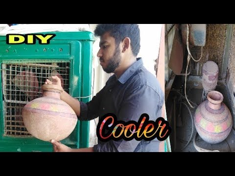 How To Make Air Cooler to AC Cooler | turn your cooler into air conditioner AC