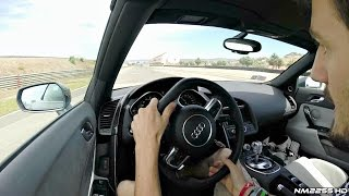 2014 Audi R8 V10 - Will it Drift?
