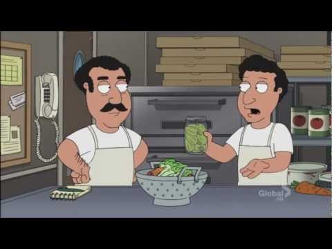 Family guy Every Pizza Place