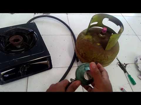 cara memperbaiki regulator kompor yang bocor simpel tanpa bongkar