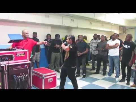 Dj Jermaine Vybz 2014 Champion of New Jersey Face Off w/ Dj Rick Super Gold Sound