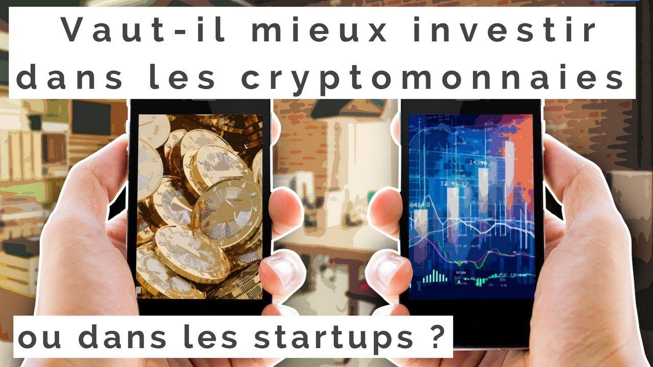 investir dans les startups et la crypto