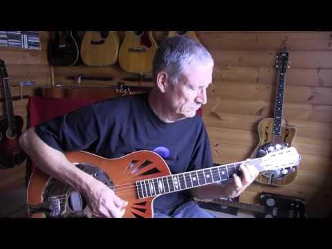 daddystovepipe talks resonator guitars (Delta Resonator and Yanuziello Resophonic)