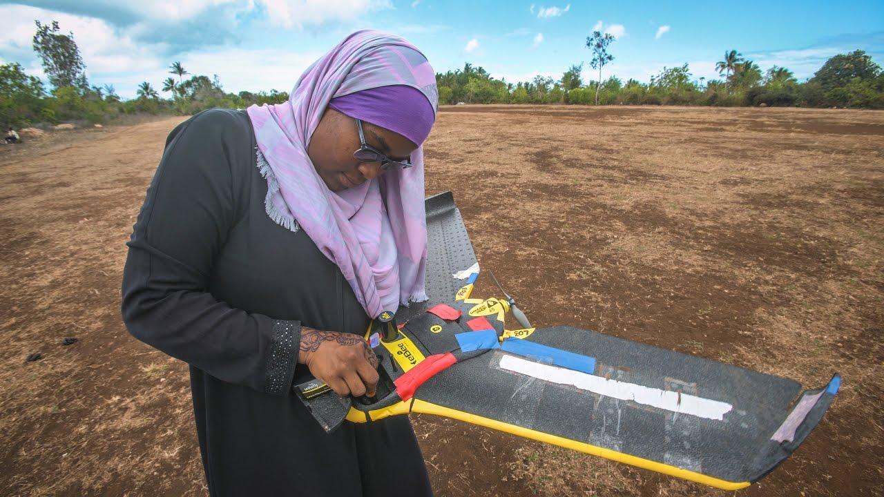 Mapping Zanzibar Using Low-Cost Drones